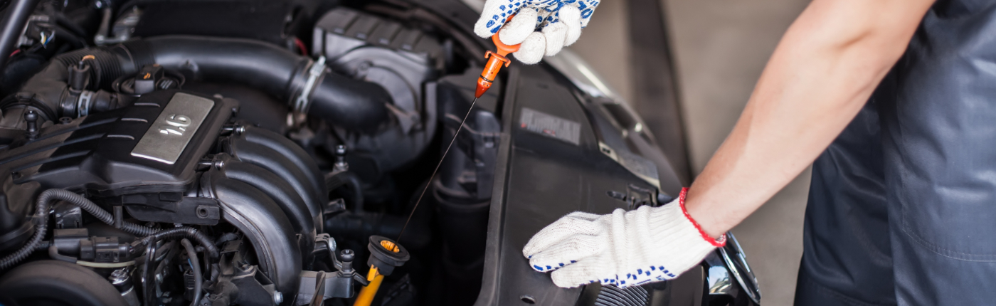 Mechanic doing a service on a vehicle - Car Servicing Bishop's Stortford